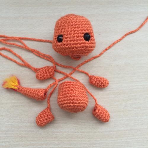 Charizard Amigurumi Crochet DIY / Mega Charizard Pokemon ... | 500x500