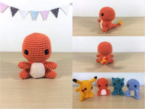 Amigurumi Doll - Charlie the Bunny | Pokemon crochet pattern ... | 375x500