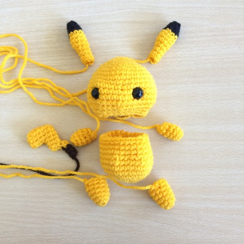 40 Crochet Pokémon Patterns - Gotta Crochet Them All | Crochet News | 500x500